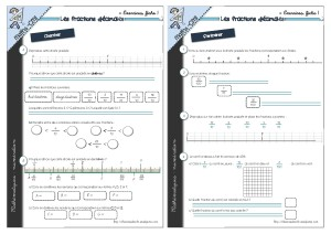Les fractions d cimales 1 cm1 - Les fractions cm1 exercices a imprimer ...