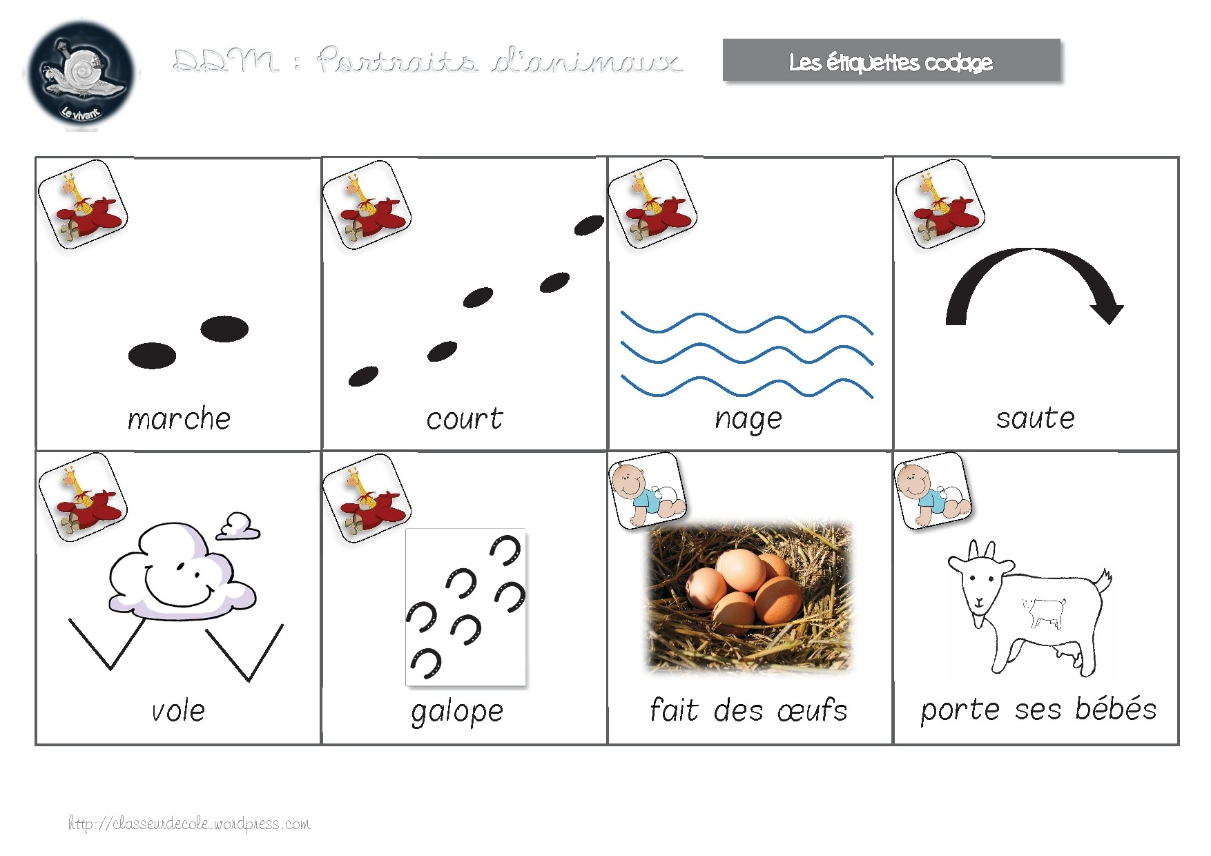 image animaux maternelle
