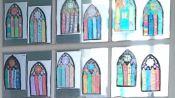 vitraux calque